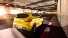 Renault Clio RS 2015 with S. Jahn on Behance Clio Rs, Sports Update, Brisbane Australia, Checkered Flag, Love Car, Used Cars, Behance, Phase 2, Yellow