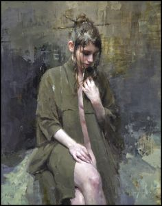 """paperimages: """" Jeremy Mann, The Black Robe """""""