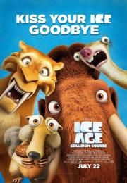 """Ice Age: Collision Course        Ice Age: Collision Course      Ledeno doba: Veliki udar  Ocena:  5.70  Žanr:  Animation Adventure Comedy Family Sci-Fi  """"One small step. One giant mess.""""Scrat's epic pursuit of his elusive acorn catapults him outside of Earth where he accidentally sets off a series of cosmic events that transform and threaten the planet. To save themselves from peril Manny Sid Diego and the rest of the herd leave their home and embark on a quest full of thrills and spills…"""