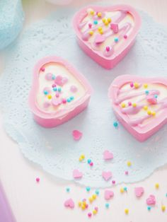 Pastel Valentine's Day chocolate
