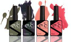 Neue hinreißende Evo-Farben: Die Vierfalt für noch mehr Vielfalt Bio Sculpture, Sculptures, Evo, Nail Polish, Coral, Lipstick, Beauty, Stockholm, Marketing