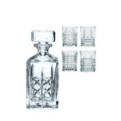 Highland Whiskey Set Decanter With 4 Tumblers ($80, originally $115)