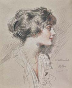 paul-cesar-helleu-lajoliemodiste-portraitdemllechanel-1912