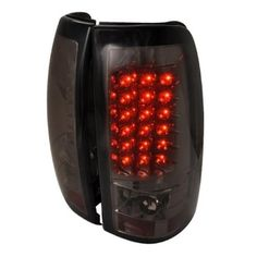 Spec-D Tuning LT-SIV03GLED-TM LED Tail Lights for 03 to 06 Chevrolet Silverado, Smoke - 11 x 20 x 22 in., As Shown