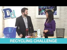 Checkout the latest segment with Downright Domestic -- a #Recycling challenge!