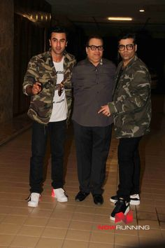 Ranbir Kapoor, Karan Johar, snapped at Ramesh Taurani Gettogether