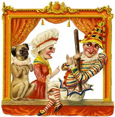 Punch and Judy and Toby the Dog