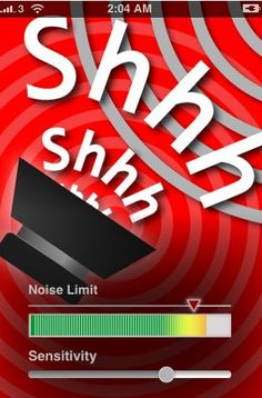 "This App ""Noise Control"" magically ask your students & kids to keep quiet on your behalf..... It's so magical that teachers found that students are more willing to corporate in classroom activities.... http://theteachingpalette.com/2010/01/29/shhh-noise-control-2/"