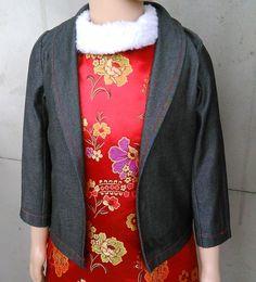儿童小西装外套制作