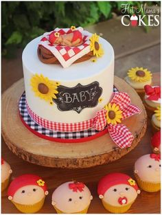 Baby shower bbq a baby q themed cake for this little princess bbq baby shower diaper Otoño Baby Shower, Picnic Baby Showers, Backyard Baby Showers, Baby Shower Chair, 2nd Baby Showers, Fiesta Baby Shower, Couples Baby Showers, Baby Shower Diapers, Baby Shower Cupcakes