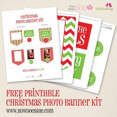 Merry Christmas! Here is your FREE Christmas printable! | How Does She...