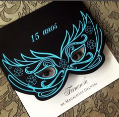 Discover (and save!) your own Pins on Convites de 15 Anos Quinceanera Planning, Quinceanera Party, Shower Party, Baby Shower Parties, Mardi Gras, 50th Birthday Party, Happy Birthday, Masquerade Party Decorations, Sweet 16