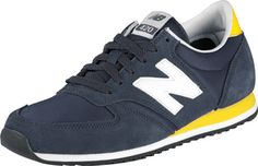 #3 New Balance 420 in navy and yellow