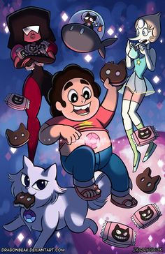 Steven Universe: Cookie Cat by DragonBeak on deviantART