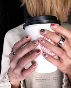 32 the spring 2019 nail trends you need to know 23 Funky Nails, Cute Nails, Pretty Nails, Mens Nails, Nail Tattoo, Geometric Nail, Manicure Y Pedicure, Minimalist Nails, Nail Trends
