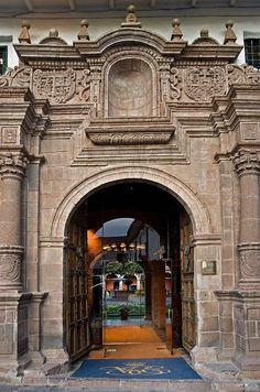 Travel Inspiration for Peru - Hotel Monasterio -Cuzco Peru'