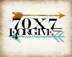 I love this.. Thank you JK Forgive 70 x 7