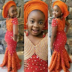 Kids Dresses 2019 : How to Stylishly Dress Your Kids For Events ShweShwe 1 Baby African Clothes, African Dresses For Kids, African Babies, African Children, African Fashion Ankara, African Print Fashion, Ankara Styles For Kids, Nigerian Outfits, Africa Dress
