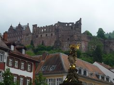 Heidelberg Castle, Germany - prom 1987