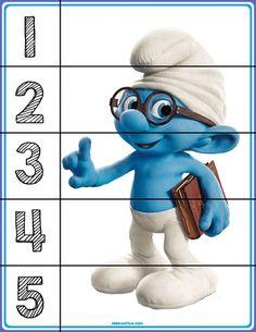 Puzzles for basic number sense. Autism Education, Preschool Education, Free Preschool, Preschool Printables, Preschool Worksheets, Kindergarten Activities, Counting Puzzles, Number Puzzles, Maths Puzzles