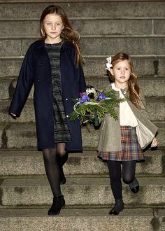 Princesses Isabella and Josephine of Denmark