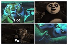 """""""The hardcore do understand but I can't watch my friend be killed.""""-Tigress (kung fu panda 2) am I the only one who noticed the parallels, and Po kinda saved Tigress back like she saved him in the 2nd one. (And btw this is a remake of my edit with better quality.)"""
