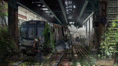 Green, even in the end Post Apocalyptic Environment by Hector Ruiz