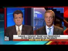 Nigel Farage Message To Donald Trump - Don't take abuse from a Clinton