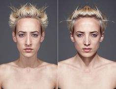 1   Would You Recognize Yourself With A Completely Symmetrical Face?   Co.Design: business + innovation + design