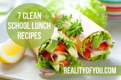 Clean Eating Challenge: 7 Clean School Lunch Recipes (Day 28) - Reality of You