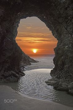 Perranporth Beach, Cornwall. UK by Megan Dykes, 500px