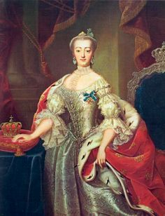 Queen Sophie-Magdalene of Denmark, nee Brandenburg-Kulmbach by Andreas Bruniche (location unknown to gogm) | Grand Ladies | gogm