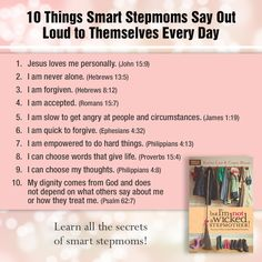 Learn all the secrets of smart stepmoms. Available in bookstores everywhere.