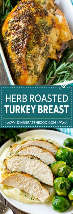 Personalized Graduation Gifts - Ideas To Pick Low Cost Graduation Offers Herb Roasted Turkey Breast Recipe Roasted Turkey Recipe Thanksgiving Turkey Roast Turkey Recipes, Chicken Recipes, Thanksgiving Turkey Recipes, Herb Recipes, Thanksgiving Treats, Thanksgiving Sides, Keto Chicken, Roast Turkey Breast, Turkey Breast Seasoning Recipe