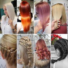 """Szabó Éva Fodrász az Instagramon: """"✨Sok szeretettel várlak Titeket továbbra is Budapesten, a 13-ik kerületben, a Mythos szalonban hajvágásra, hajfestésre, balayage vagy ombre…"""" Dreadlocks, Hair Styles, Beauty, Instagram, Hair Plait Styles, Hair Makeup, Hairdos, Haircut Styles, Dreads"""
