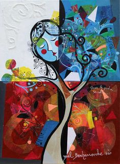 Yoel Benharrouche - Dans Le Jardin Secret (Original) - Eden Fine Art Gallery