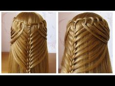 Easy hairdressing tuto for evening / wedding / parties ♔ long hair mid / long . Work Hairstyles, Braided Hairstyles For Wedding, Braided Hairstyles Tutorials, Drawing Hair Braid, Braiding Hair Colors, Easy Hair Cuts, Braids With Beads, Fantasy Hair, Braids For Black Hair