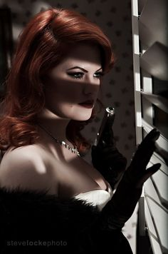 A killer's view in Showcase of Film Noir Photography