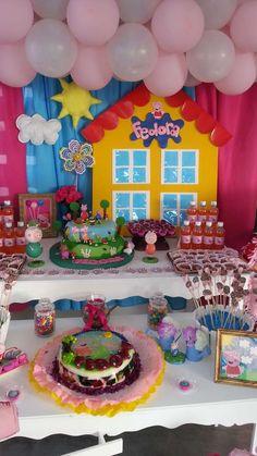 Peppa Pig Birthday Party Ideas | Photo 1 of 8