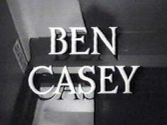 The series stars Vince Edwards as medical doctor Ben Casey, a young, intense but idealistic surgeon at County General Hospital. His mentor was Doctor David Zorba, played by Sam Jaffe. Vince Edwards, Ben Casey, Tv Theme Songs, 80 Tv Shows, Real Tv, Tv Doctors, Tv Themes, Medical Drama, Music