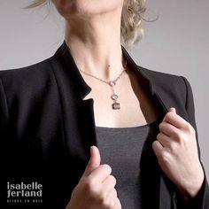 collier  réversible collier en bois  accessoires mode