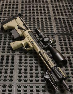 Desert Tactical Arms bullpup sniper rifle