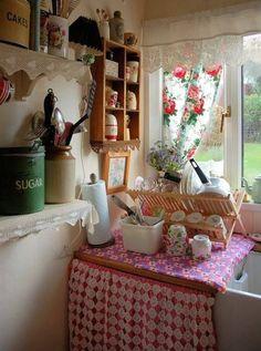 Decorating an old farmhouse