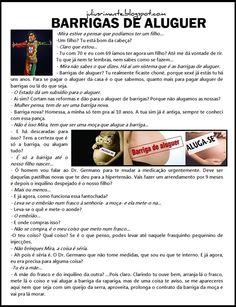 JULIUS   RIMANTE  NEWS: BARRIGAS DE ALUGUER