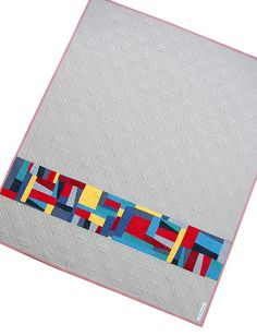 Red Pepper Quilts: Kona Modern Quilts ~ A Fun(ky) Finished Quilt