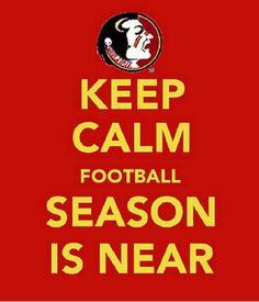 FSU.  Noles' football season is near.