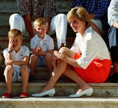 """I want my boys to have an understanding of people's emotions, their insecurities, people's distress, and their hopes and dreams."""" Princess Diana"""