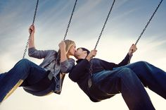 playful and fun engagement portrait by The Image is Found