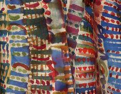 hand painted silk, Noralene, Venice