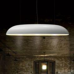 Kunstlicht Zeppelin Shiny White - Hanglampen -www.Lichtkunde.nl